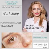 WORKSHOP avec Daria JURALOWICZ