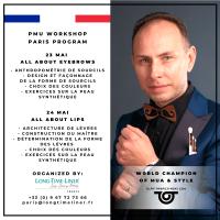 Le champion du monde de Maquillage pour la première fois en France !
